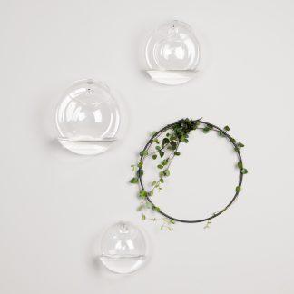 Wall glass vase dbkd