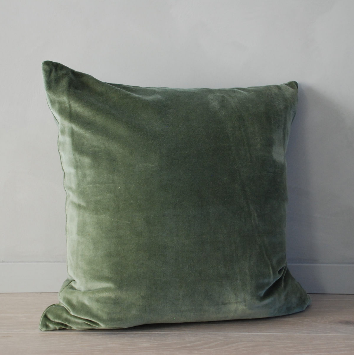 Ultra Velour pute, green - Kaktus Interiør AS SA-93