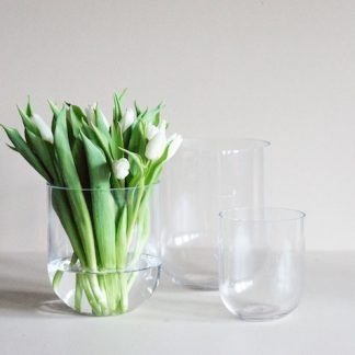 Simple glassvase produktbilde
