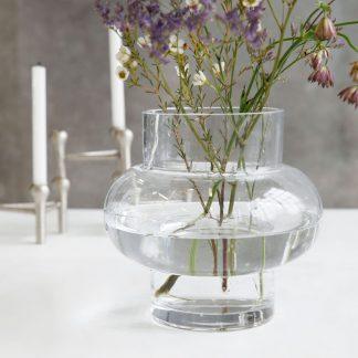 Forms low vase klar