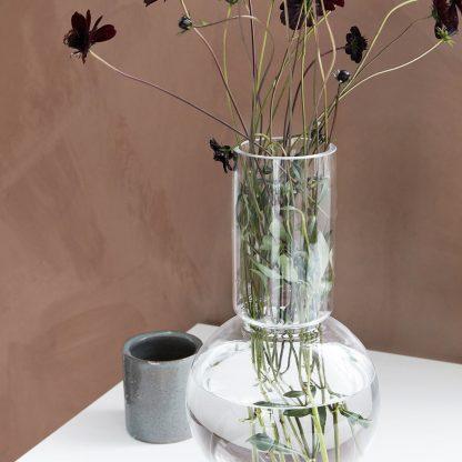Bubble vase klar