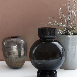 Bubble vase grå