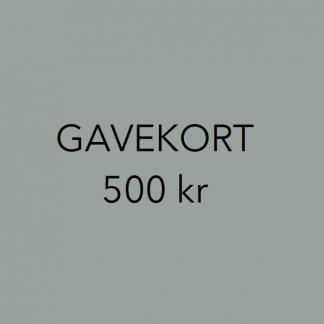 Gavekort interiør 500