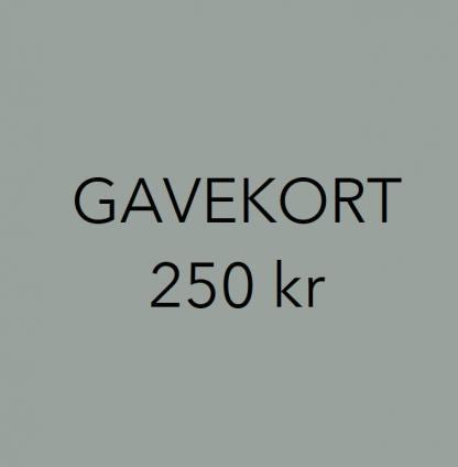 Gavekort interiør 250