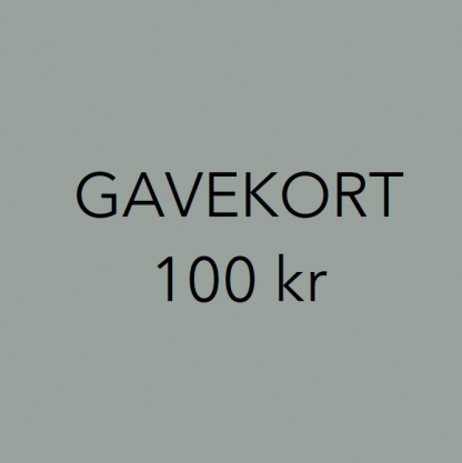 Gavekort interiør 100