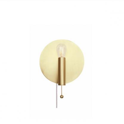 Art Deco vegglampe messing Globen Lighting