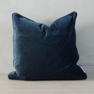Putetrekk Velvet Matt dark blue 50x50 cm Mille Moi