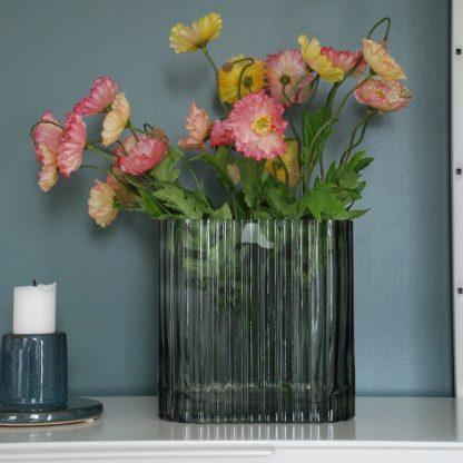 glass vase grønn bloomingville