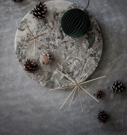 Twinkle julepynt S messing Nordstjerne