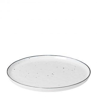 Salt tallerken med prikker 22 cm Broste Copenhagen