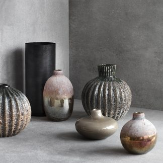 Rakel vase munnblåst glass Broste Copenhagen