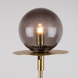 Globen Lighting bord lampe Art Deco smoke messing