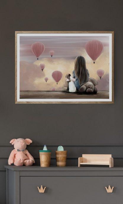 Little Mia Poster Linn Wold