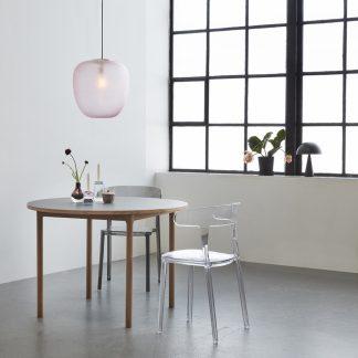 Lampe tak pendel rosa Hübsch