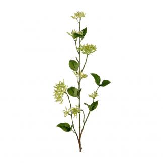 Kvist med grønne bær blomst 95 cm Mr Plant