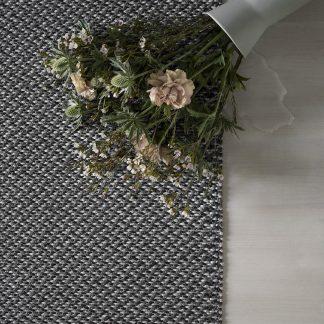 Rug gritty grå grey teppe plast Design Lina Johansson