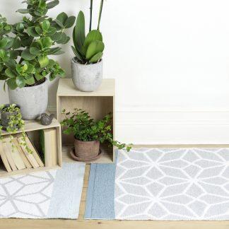 Rug prisma Aqua teppe plast Design Lina Johansson