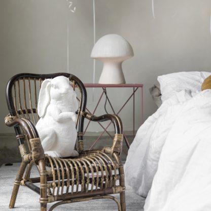 Roger kanin lampe hvit By On Design