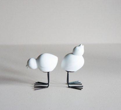 Easter bird hvit 2 pk DBKD påske