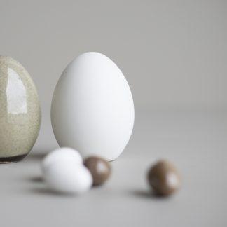 Standing egg hvit dbkd påske