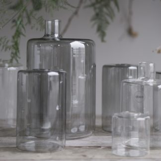 Clean vase glass smoke DBKD Pipe