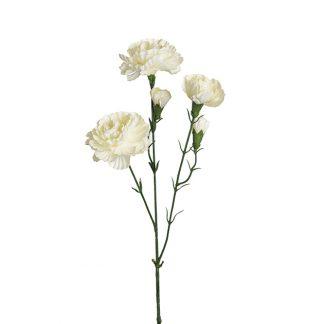 Nellik eleganse hvit 65 cm Mr Plant
