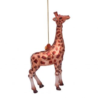 Vondels ornament julekule giraff