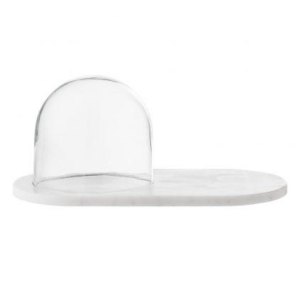 Dekor kuppel glass marmor Bloomingville