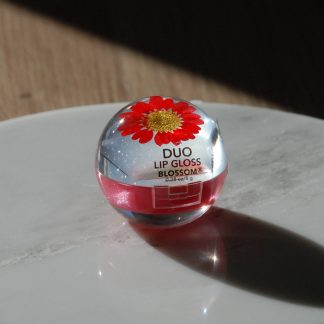 Blossom beauty duo lip gloss red