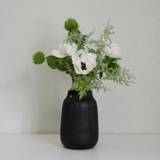 Bukett 1 hvit anemone Mr Plant