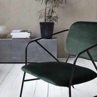 Klever lounge stol House Doctor grønn