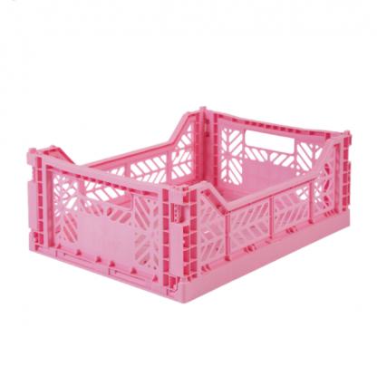 Aykasa foldekasse midi baby pink