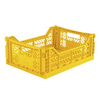 Aykasa foldekasse midi yellow