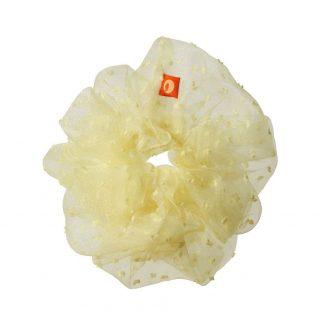 Betty scrunchie yellow Maanesten