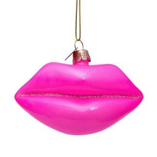 ornament rosa lepper h6 cm Vondels