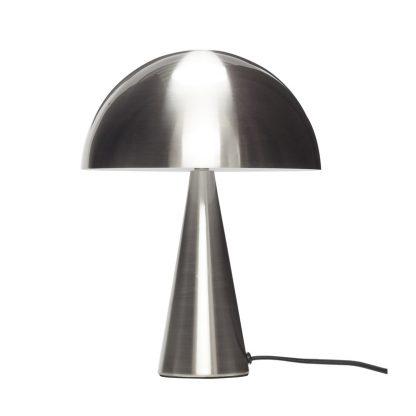 Bordlampe nikkel 33 cm Hübsch Interior