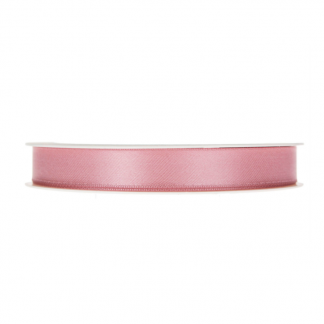 Satengbånd rosa 1,5 cm