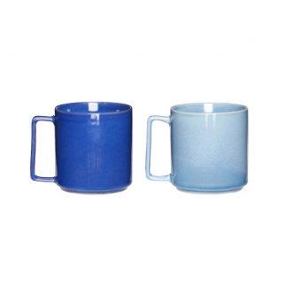 Keramikk kopp s/2 hubsch interiør blå