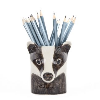 Quail ceramics pencil pot grevling