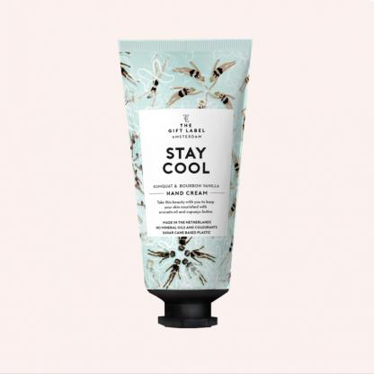The gift label håndkrem tube stay cool