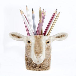 Geit pencil pot Quail ceramics