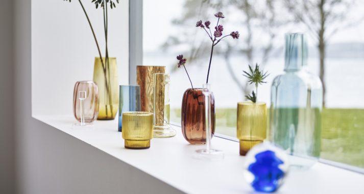 Interiør vaser lysestaker Hübsch